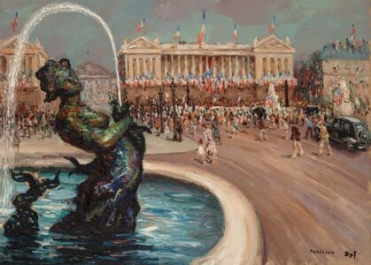 Marcel Dyf, 'The Liberation of Paris', 1948