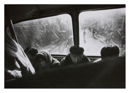 Mo Yi, 'Tossing Bus China 1989 No.5  摇荡的车厢 中国1989 No.5', 1989