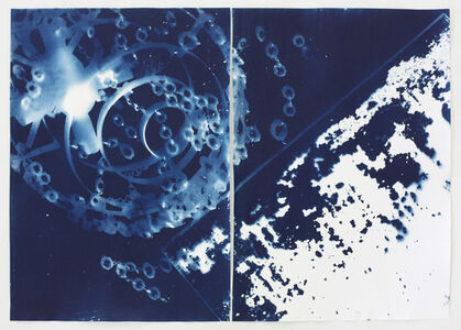 Vanessa Albury, 'Light Shadowgraphs, Chandelier XXIV_XXV', 2014