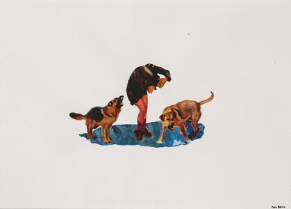 Maria Barrio, 'What the dogs sing (Ce qui chantent les chiens)', 2020