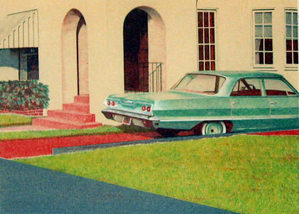Robert Bechtle, ''63 Bel Air', 1973