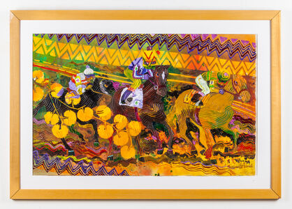 Wadsworth Jarrell, 'At the Races', 1992