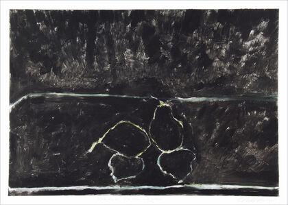 Jane McNichol, 'Black Pears, Blue, Green and Yellow', 2005