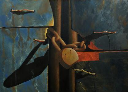 Scott Geyer, '4 Panels and Lock', 2004