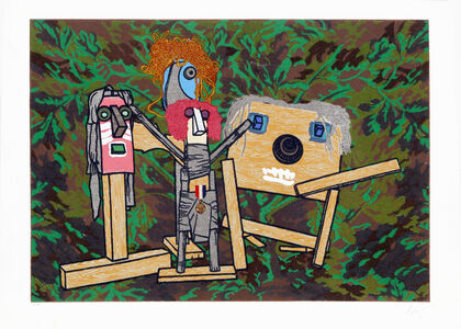 Enrico Baj, 'Meeting from the Furniture Series', 1988