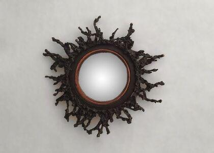 Michel Salerno, 'Dans l'œil de Platon, Hand-made Mirror', France-2014