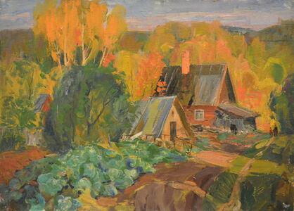 Vladimir Klimentevich Zhuk, 'Sunset light in Autumn', 1978