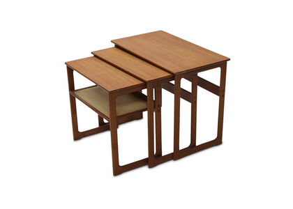 Johannes Andersen, 'Teak nest of tables'