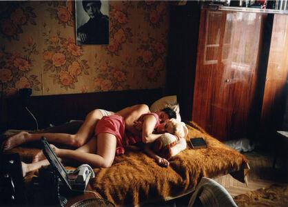 Bertien van Manen, 'Rostov on the Don (Maxim and Tanja Sleeping)', 1993