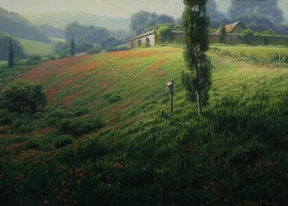 Joseph McGurl, 'Soft Light in the French Countryside', 2017