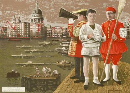 After David Gentleman, 'DOGGETT'S COAT AND BRIDGE''