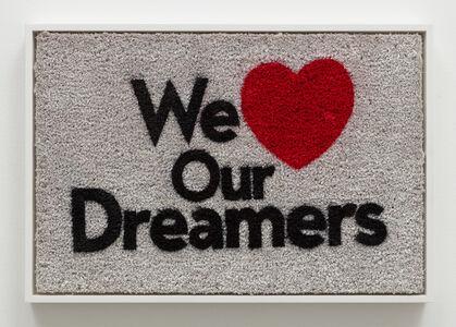 Nery Gabriel Lemus, 'We Love Our Dreamers', 2018