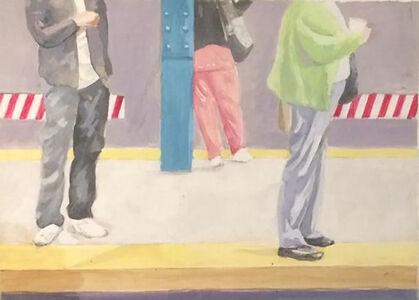 Colleen Franca, 'Subway Study', 2018