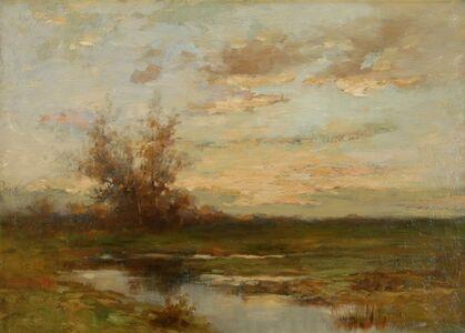 Arthur Hoeber, 'Marsh Sunset', ca. 1910