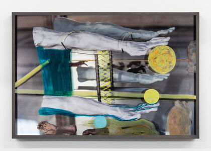 Adad Hannah, 'Untitled (Two Arms in a Mirror)', 2019