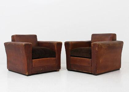 Osvaldo Borsani, 'Pair of armchairs by Osvaldo Borsani', 1940-1941