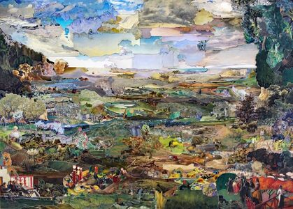 KÜHNE / KLEIN, 'Painting People in the Sun', 2012