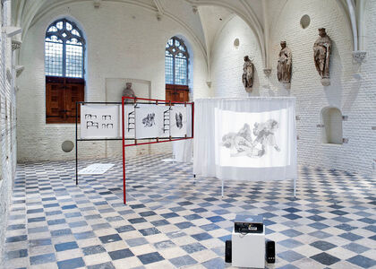Falke Pisano, 'The Body in Crisis (Housing, Treating and Depicting), Installation Version', 2012
