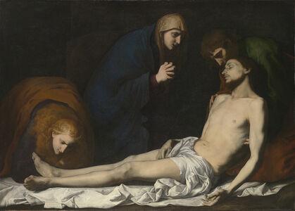 Jusepe de Ribera, 'Lamentation over the Dead Christ', Early 1620s