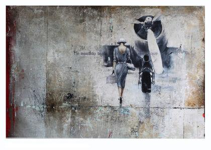 Margit Fureder, 'Departure'