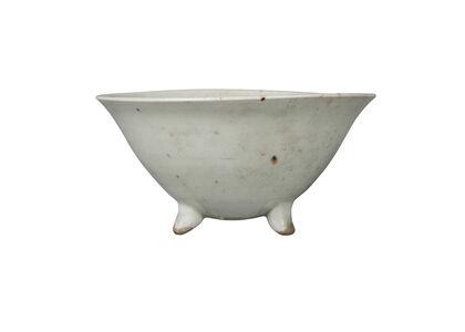 Bernard Leach, 'a porcelain tripod bowl', c.1960
