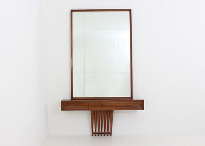 Osvaldo Borsani, 'Consolle with mirror by Osvaldo Borsani', 1941