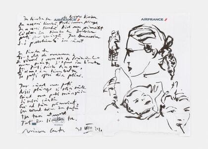 Mircea Cantor, 'Étude pour un portrait', 2020