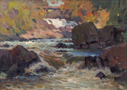 John William Beatty, 'Brook's Falls, Parry Sound', 1932