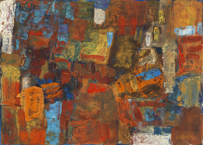 Chafic Abboud, 'Composition', 1958