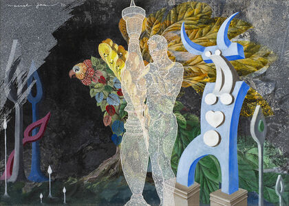 Marcel Jean, 'Le batelier', 1972
