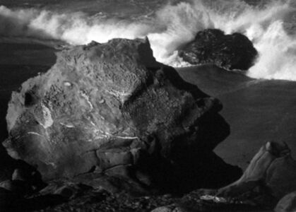 Morley Baer, 'Scroll Rock, Garrapata Beach, Sur Coast, 1975', 1975