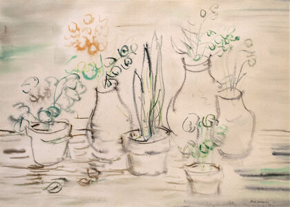 Kazuo Nakamura, 'Still Life with Pots', 1953