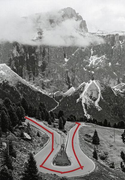Olaf Unverzart, 'The Line, Passo Sella 01', 2013