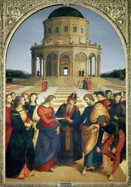 Raphael, 'Marriage of the Virgin', 1504