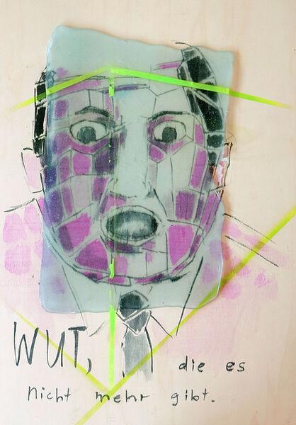 Birgit Brenner, 'Wut', 2018