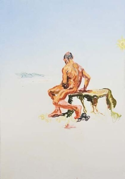 Peter Schmersal, 'Eremit in romantischer Landschaft', 2012