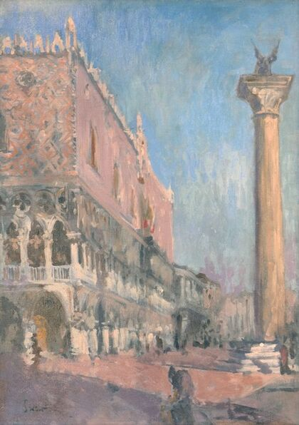 Walter Richard Sickert, 'Doge's Palace, Venice', ca. 1901