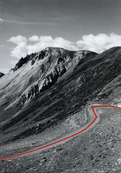 Olaf Unverzart, 'The Line, Passo del Livigno 01', 2013