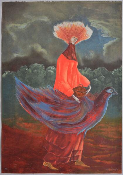 Leonora Carrington, 'Portrait of the Late Mrs Partridge', 2011