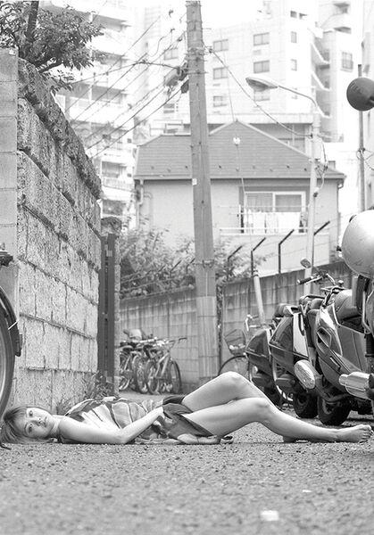 Noritoshi Hirakawa, 'Fuyuko Tsuji, 9:33 A.M., Aug 12, 2008, Nanpei-cho, Shibuya', 2008