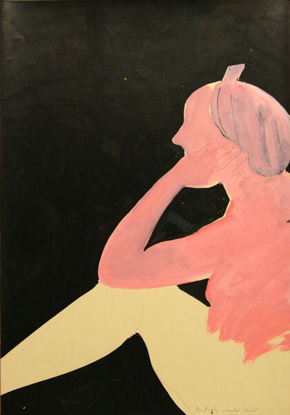 Joan Brown, 'Partially Painted Model', 1973