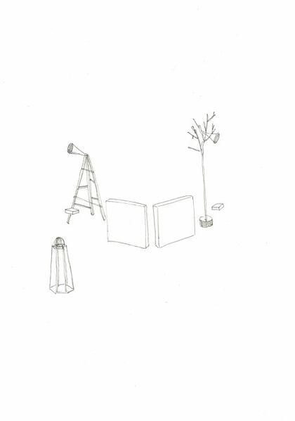 Hiraki Sawa, 'memoria paralela (installation)', 2019