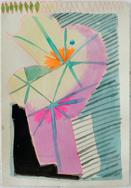 Mark Joshua Epstein, 'Untitled (pink structure)', 2015