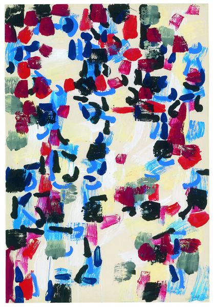 Jean-Paul Riopelle, 'Jaune, rouge, noir', 1956