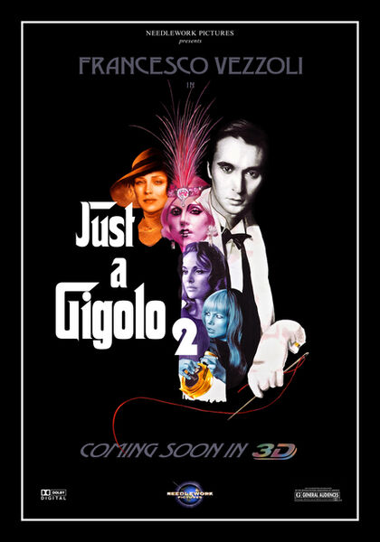 Francesco Vezzoli, 'JUST A GIGOLO', 2011