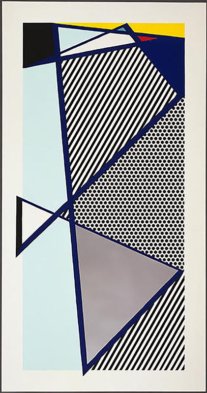 Roy Lichtenstein, 'Imperfect Print for B.A.M.', 1987, Print, Woodcut and screenprint on Arches Cover paper, Georgetown Frame Shoppe