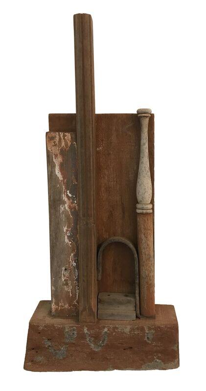 José Ivacy, 'Construções com matérias antigas 3', 2005, Other, Assemblage, madeira, Galeria Karla Osorio