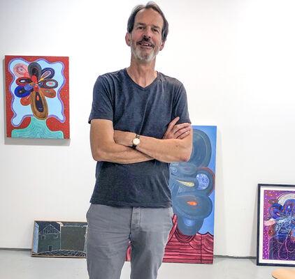 Richard Hull: Painting and Drawing, installation view