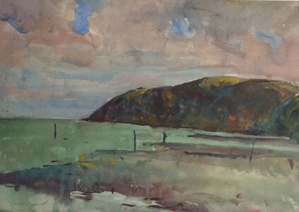 Charles Webster Hawthorne, 'Lynmouth Cliffs No. 3', 1929