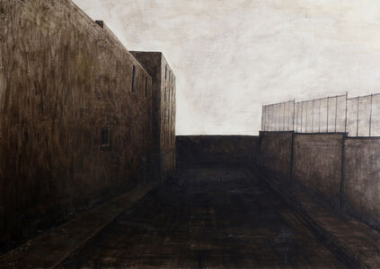Joan Nelson, 'Untitled - Roof Top View', 1984